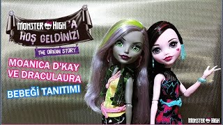 Monster High Moanica & Draculaura Bebekleri Tanıtımı | Monster High