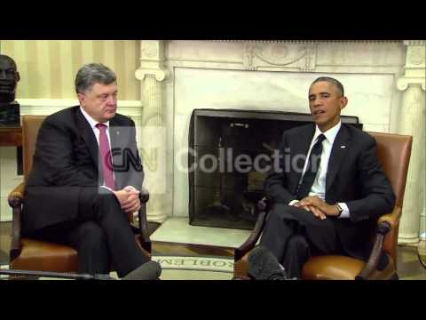 DC:OBAMA MEETS WITH UKRAINE PRES POROSHENKO