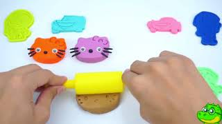 Learn Colours for Baby | Play-Doh Songs and Colours