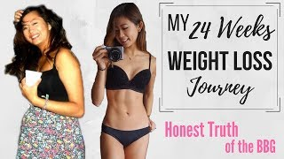 24 Weeks Weight Loss Journey (BBG - Bikini Body Guide by Kayla Itsines) | stayfitandtravel
