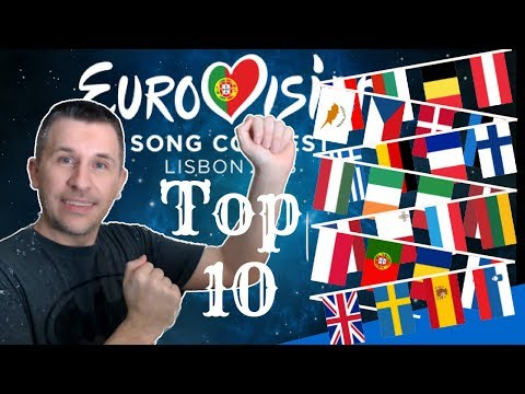 Eurovision 2018 - My Top 10 (With Reaction)