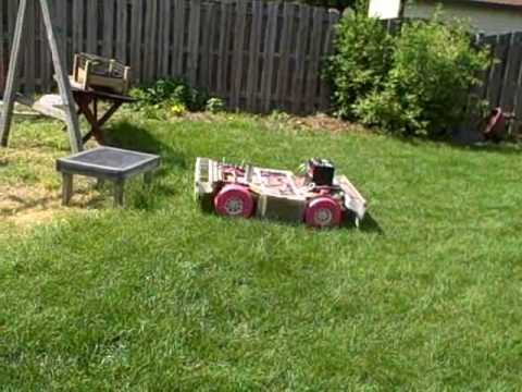 DIY Robot Lawn Mower