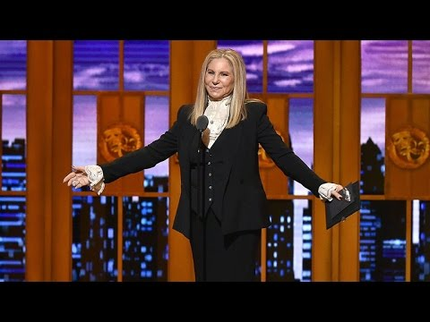 WATCH: Barbra Streisand Return to The Tonys Stage in 'Hamilton' Fashion!