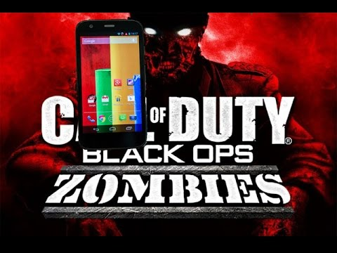 Black ops Zombies - Android - Motorola Moto G Gameplay