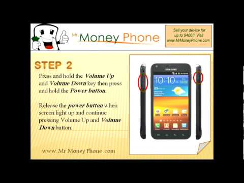 HARD RESET Samsung Galaxy S Infuse SGH-i997 (external) Master Reset (RESTORE FACTORY condition)