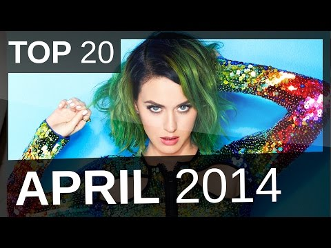 TOP 20 SINGLE CHARTS  |  APRIL  |  2014