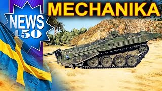 Szwedzkie pojazdy w ruchu! - NEWS - World of Tanks