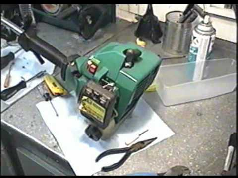 Weed Eater Repair >> Weedeater Carburetor Rebuild & Fuel Line Repair Part 3 of 3 - YouTube