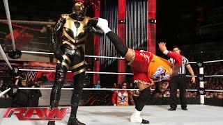Jimmy Uso vs. Goldust: Raw, Sept. 1, 2014