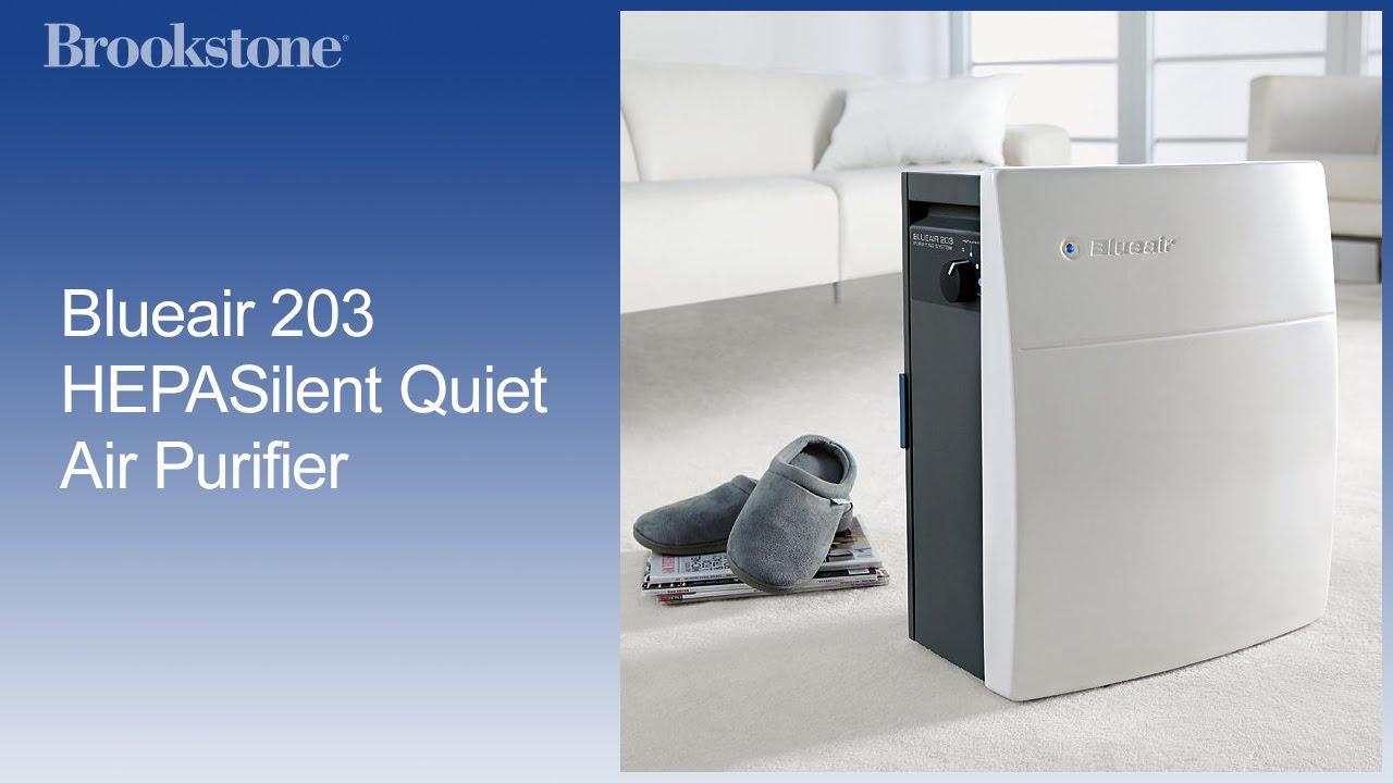 blueair 203 quiet air purifier youtube. Black Bedroom Furniture Sets. Home Design Ideas