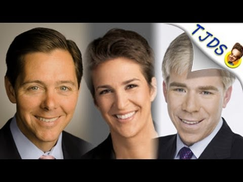 Douchebags Plus Rachel Maddow On Meet The Press (TJDS)