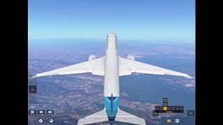 Detik-detik jatuhnya pesawat Garuda Indonesia di Infinite Flight