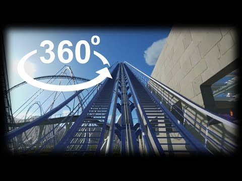 360° Roller Coaster VR 360 VIDEO 4K Virtual Reality VIDEO 360 GoPro Fusion 360