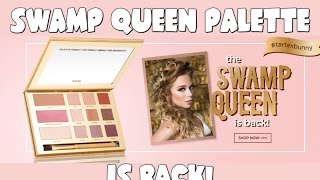 SWAMP QUEEN PALETTE IS BACK!