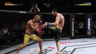 Tony Ferguson vs Edson Barboza | SLEPT EM!! | UFC 3!!