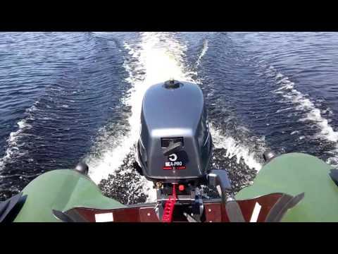 лодки с мотором аква