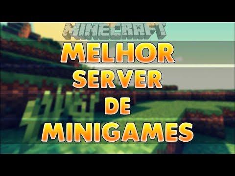SERVER DE MINECRAFT 1.8.X ( MINIGAMES )