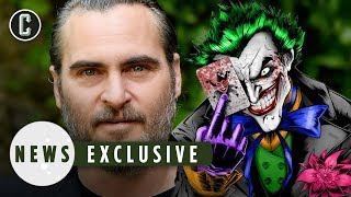 Joaquin Phoenix Opens Up About DC's Joker Movie