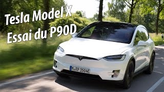 Essai Tesla Model X 2016 - Test Drive and first impressions - Largus fr