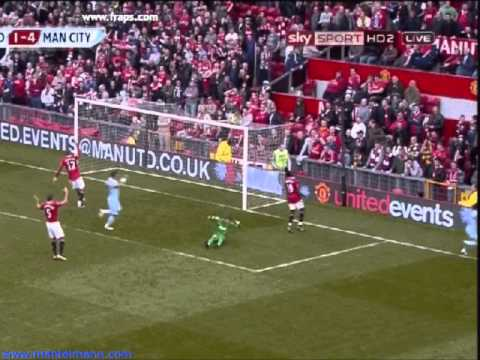 Man Utd 1 Manchester City 6 [hq] Derby Day 23 10 2011 Six One video