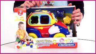 Baby Clementoni  Жучок Эрни Разноцветные формочки 60320)