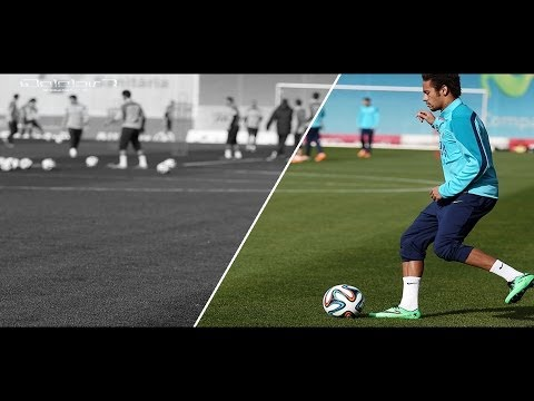 Neymar Junior ● Freestyle(warm Up) ● Part 2 | Hd video