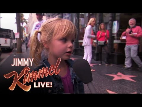 Kimmel Asks Kids do You Know Any Naughty Words? video