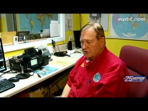 Ham radio operators monitor Isaac