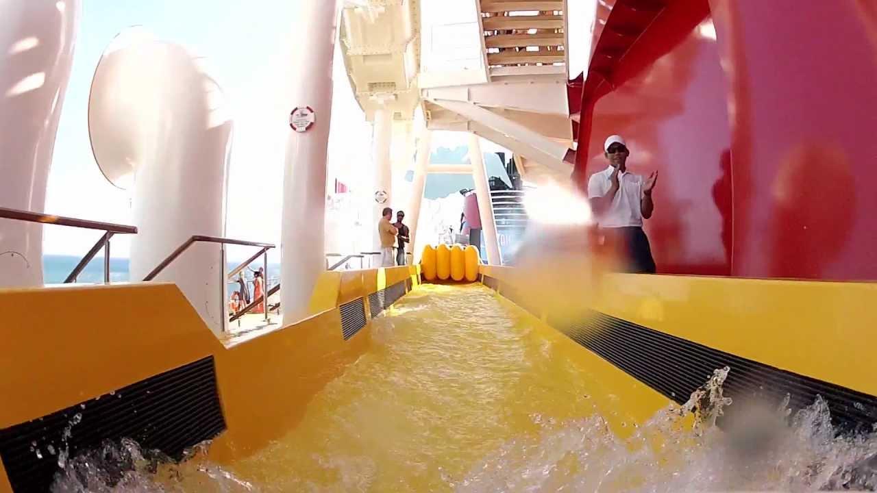 Disney Fantasy Cruise Ship Aquaduck  YouTube