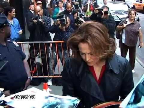 Sigourney Weaver- Good Morning America (Celebrity Sightings)