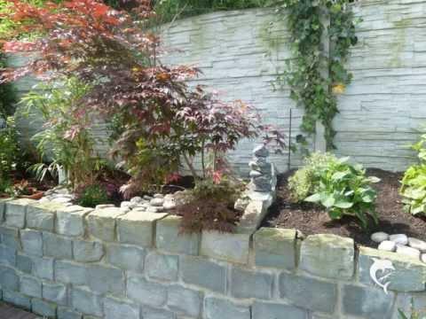 Trockenmauer videolike for Gartengestaltung natursteinmauer