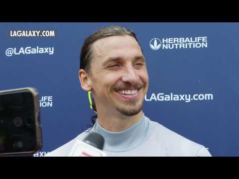 Zlatan Ibrahimović on Playing for LA Galaxy, His Nicknames & The World Cup