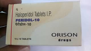 Peridol 10MG Tablet Full Review In Hindi