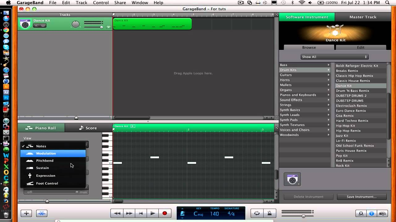 how to start making beats on garageband