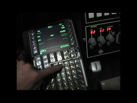 VRInsight CDU II Panel FS2004 LEVEL-D Tutorial FMC RJCC-RJTT