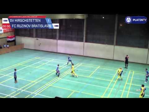 Tor -  SV Hirschstetten / FC Ruzinov Bratislava am 13.02.2016 18:43