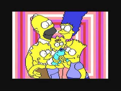 Commodore 64 'the Simpsons