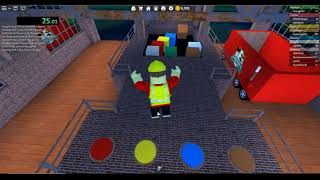 ROBLOX - Work At Pizza Place - 10 Supply Boxes - 1:15.81