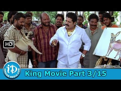 King Telugu Movie Part 315 - Nagarjuna Trisha Mamta Mohandas