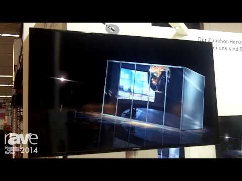 ISE 2014: PETA Demos a Standing Pole Mount for Displays