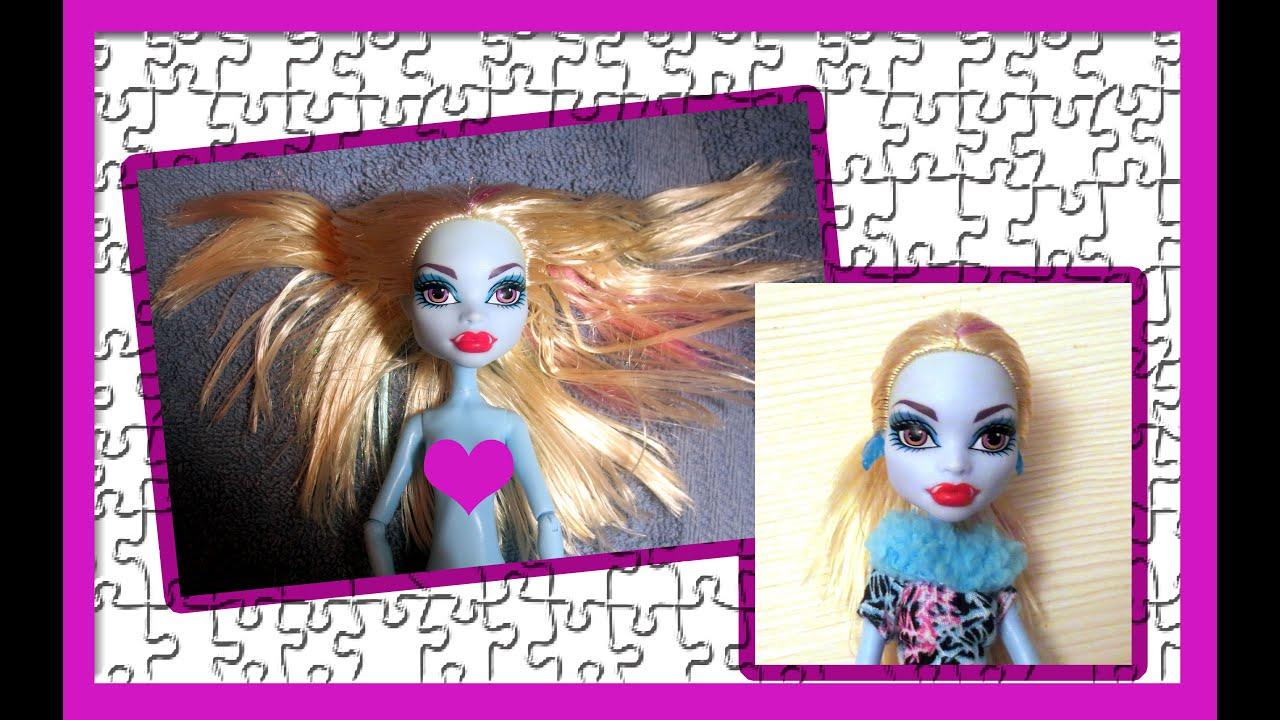 Как сделать куклу волосы монстер хай 909