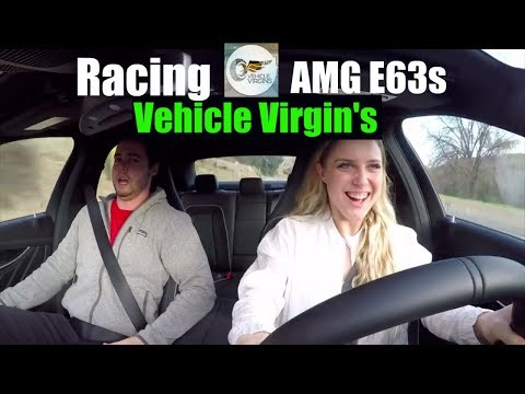 Racing Vehicle Virgin's Mercedes AMG E63s!!
