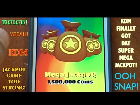 Super Mega Jackpot on Subway Surfers!