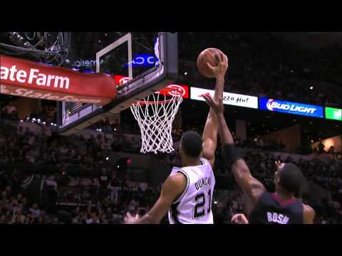 Tim Duncan's Top 10 Plays of the 2013-2014 Season!