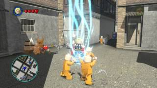 LEGO Marvel Super Heroes The Video Game - Thor free roam