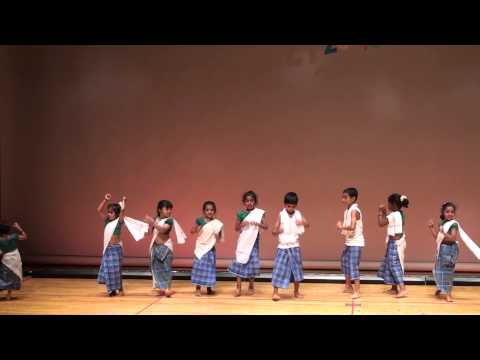 Ojimaindians Diwali Dhamaka 2013-malayalam Folk Dance-little Butterfly Group #20of24 video