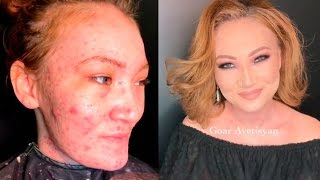 POWER OF MAKE UP BEFORE AND AFTER by Goar Avetisyan