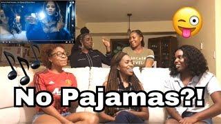 "Download Lagu ""Sin Pijama"" Becky G and Natti Natasha Official Music Video REACTION Gratis STAFABAND"