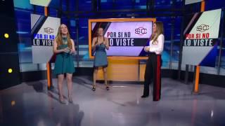 Conductoras de  ESPN realizan sexy baile