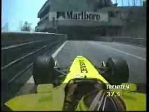 Heinz Harald Frentzen OnBoard lap in JordanMonaco 2001.